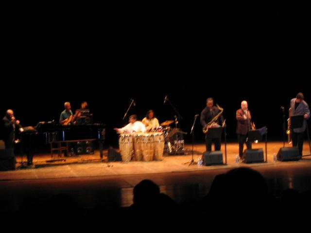Immagine tratta dal concerto di Eddie Palmieri al Teatro delle Muse del 17 Luglio 2012