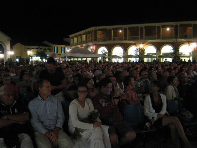 L'ingresso al concerto di Eddie Palmieri al Serravalle Outlet del 29 luglio 2012