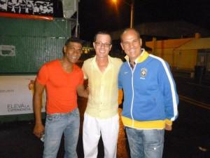 Enzo Conte con Felipe e con un altro grande ballerino e maestro portoricano: Stacey Lopez , originario proprio di Cayey, dove insegna alla locale Univeristà e presso il Teatro Bellas Artes.