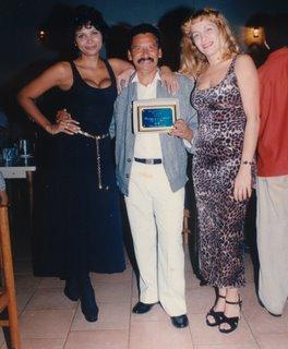 """Il 30 maggio 1998 Principe riceve il premio """"Tuy de Oro"""""""