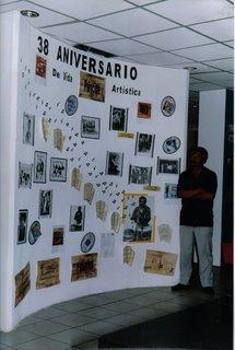 Esposizione 38 Anniversario di vita artistica di Antonio Príncipe Biblioteca dell' Edificio Santa Rosa, Ocumare del Tuy.