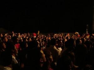 Il pubblico del Festival Latino Americando