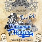 Locandina del 30 novembre, la Charanga Moderna al NY Salsa Club