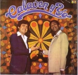 La copertina del disco Calaven y yo
