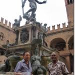 Ray Perez y Teo Hernadez en Bologna