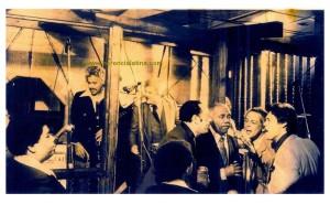 Jam Session  da sininistra: Johnny Pacheco, Tito Puente, Machito. Joe Quijano e Joey Pastrana.  New York 1970  Foto di Joey Pastrana - ceduta a Herencia Latina.
