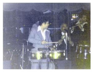 Al Cotton Club di New York: Joey Pastrana con il Maestro Machito. Foto di Joey Pastrana - ceduta a Herencia Latina