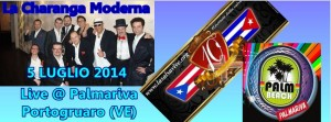 La Charanga Moderna al Palmariva 5 luglio 2014