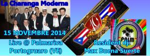 La Charanga Moderna @ Palmariva sabato 15 novembre 2014