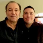 Ruben Blades con il figlio Joseph Verne Blades