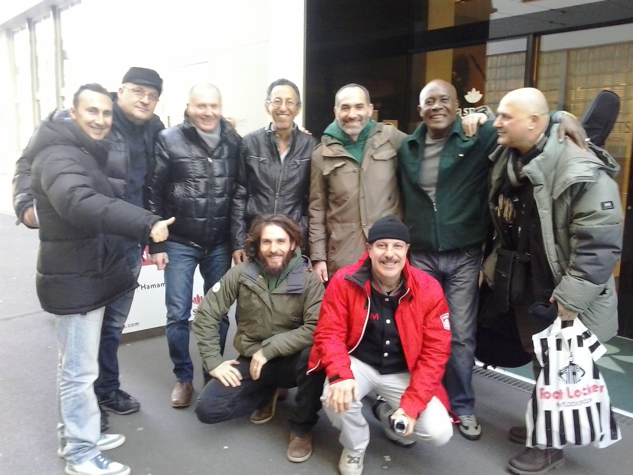 Tommy Salsero con i Los Dementes de Italia, Ray Perez e Teo Hernandez