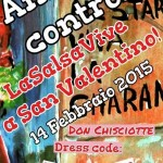 Amor y Control, LaSalsaVive @ San Valentino, Don Chisciotte (Galliera - Bo), 14 febbraio 2015