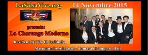 La Charanga Moderna live all'Adelayde 14 novembre 2015