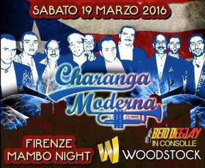 La Charanga Moderna live al Firenze Mambo night - sabato 19 marzo 2016