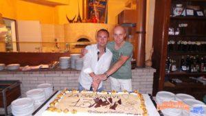 Il taglio della torta!