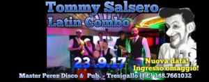 Tommy Salsero Latin Combo live @ Disco pub Master Perez di Tresigallo (FE) - 23 settembre 2017