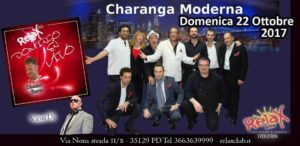 Concerto live della Charanga Moderna al Relax Club di Padova, domenica 22 ottobre 2017