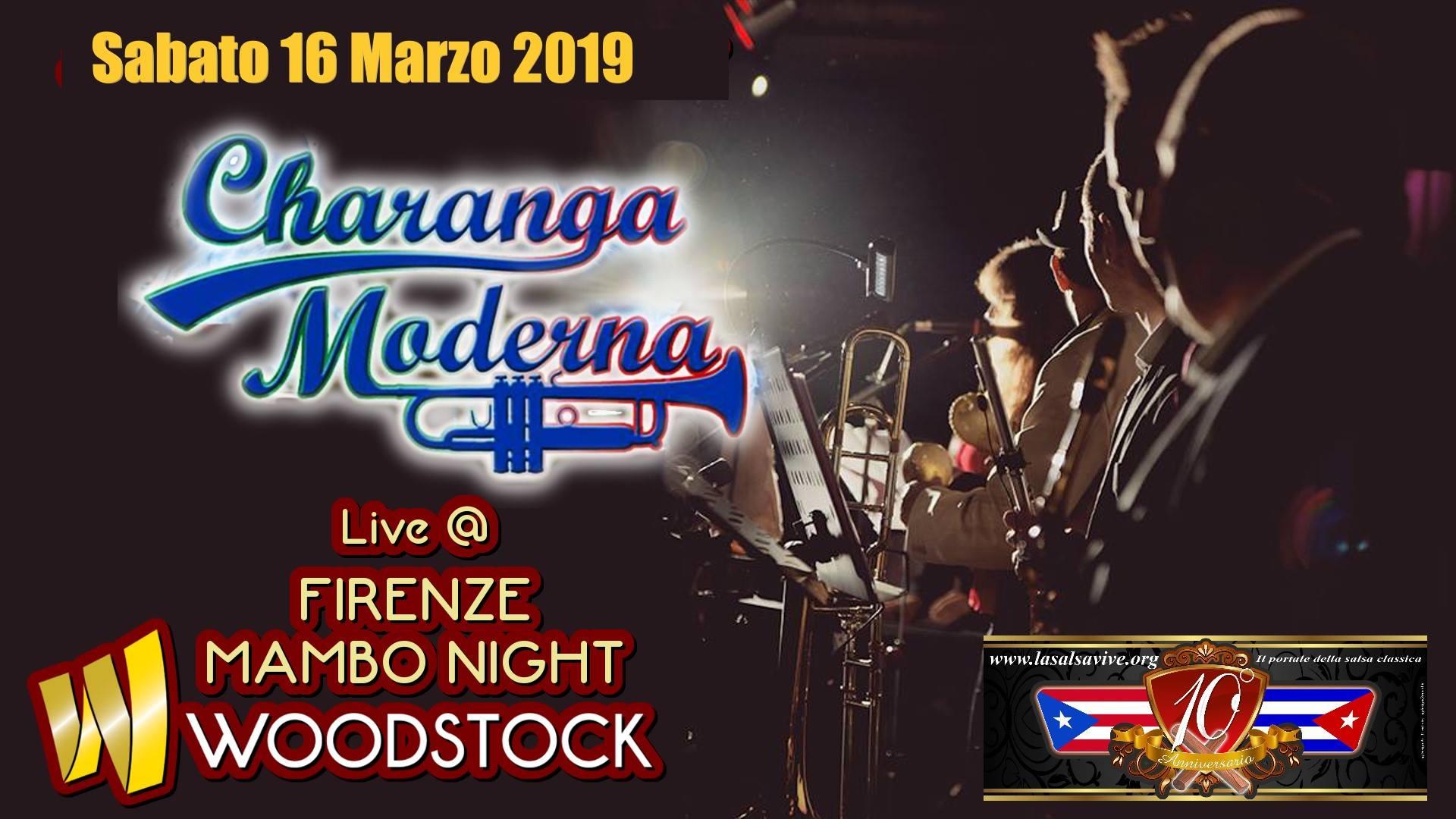 Concerto live della Charanga Moderna al Firenze Mambo Night, sabato 16 marzo 2019